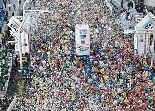 東京マラソン 走り方 注意点