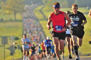秋のマラソン